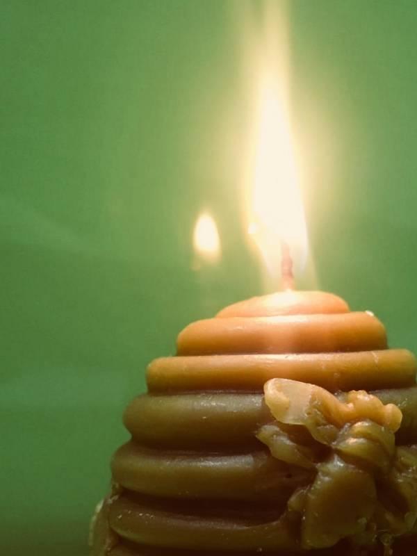 vela de colmena antigua