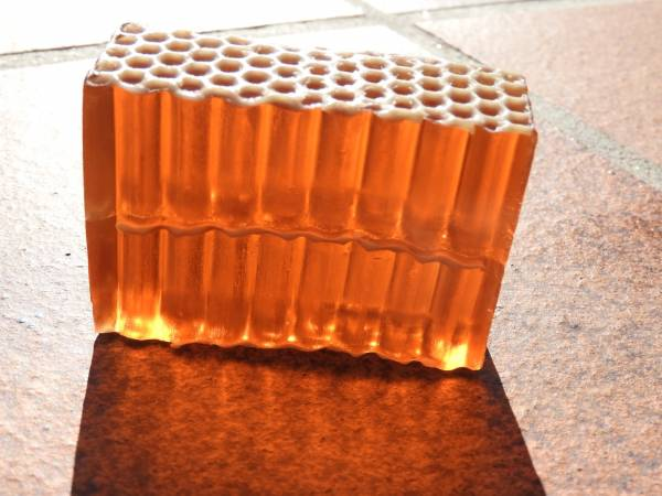 jabón miel y propóleo