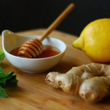 Jarabe de miel y limón