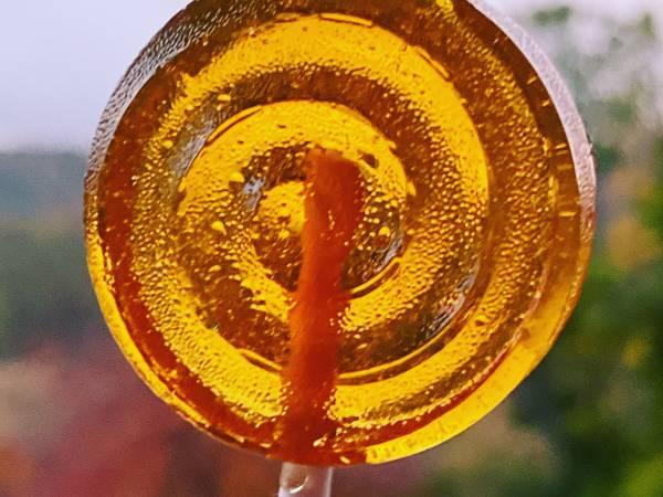 Piruleta de miel y limón